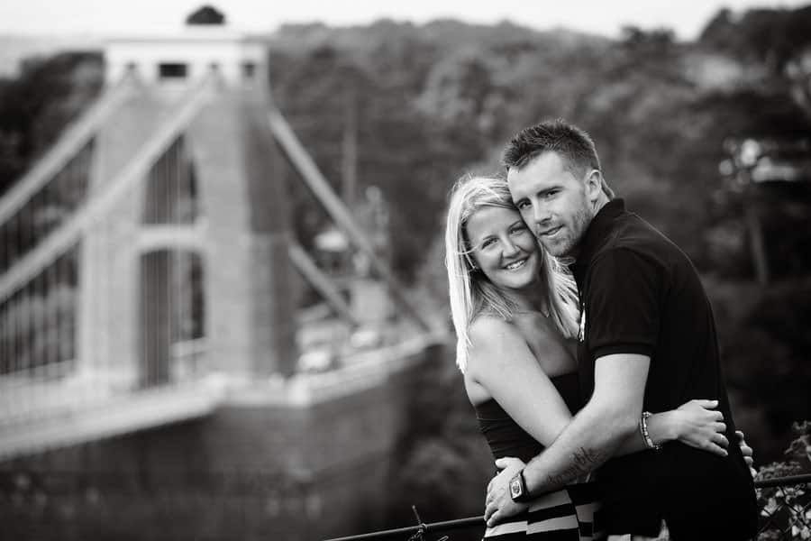 clifton suspension bridge engagement session-28