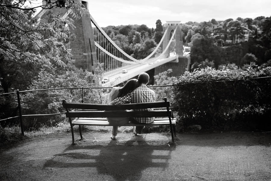 clifton suspension bridge engagement session-30