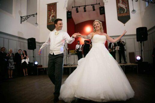 Stanbrook abbey wedding- first dance