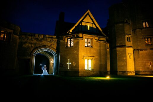 winter wedding photography thornbury castle