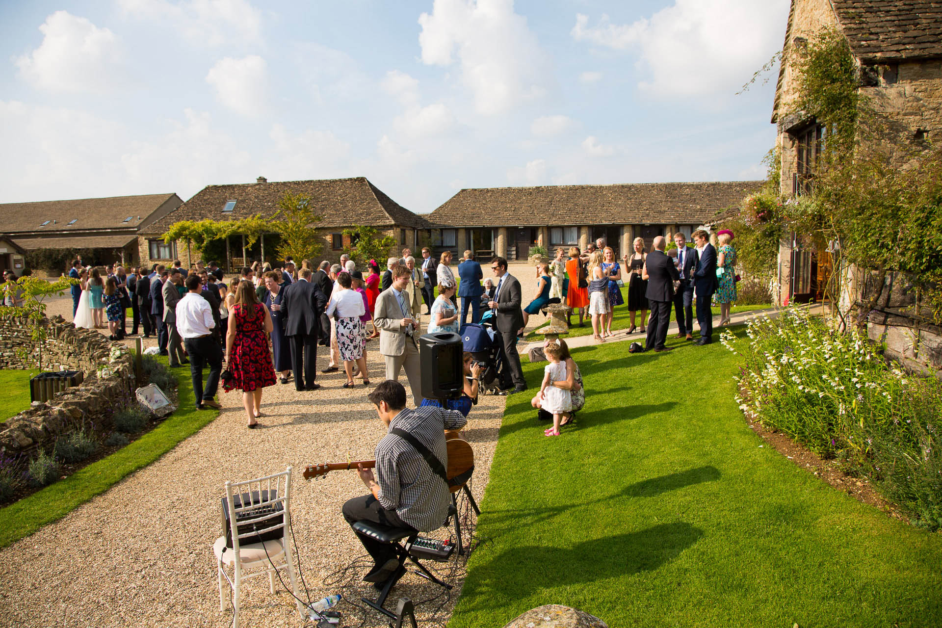 great tythe barn wedding reception