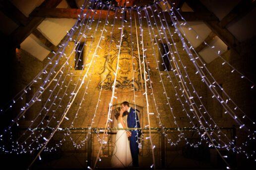 great tythe barn wedding photographer
