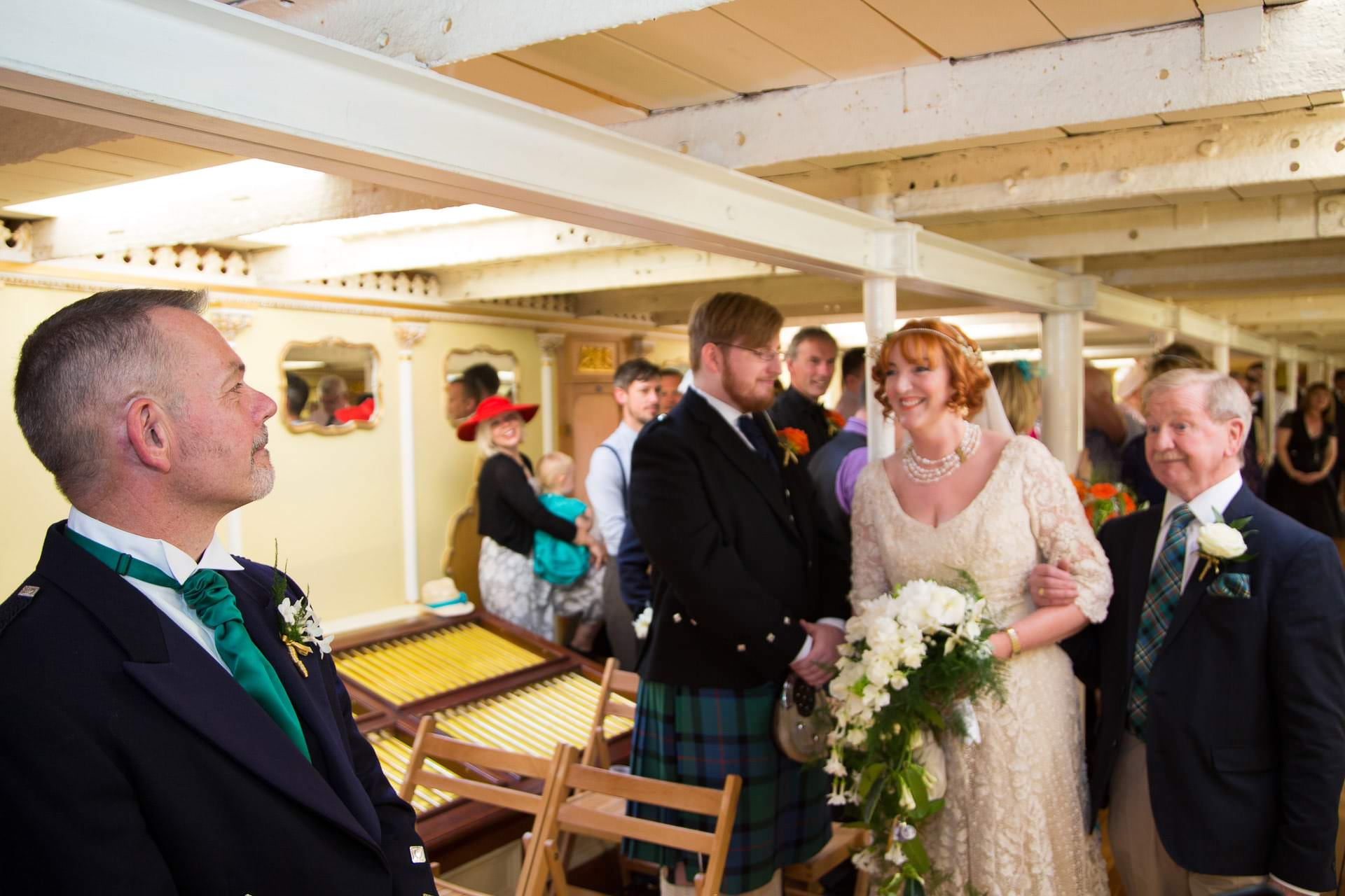 wedding at ss great britain