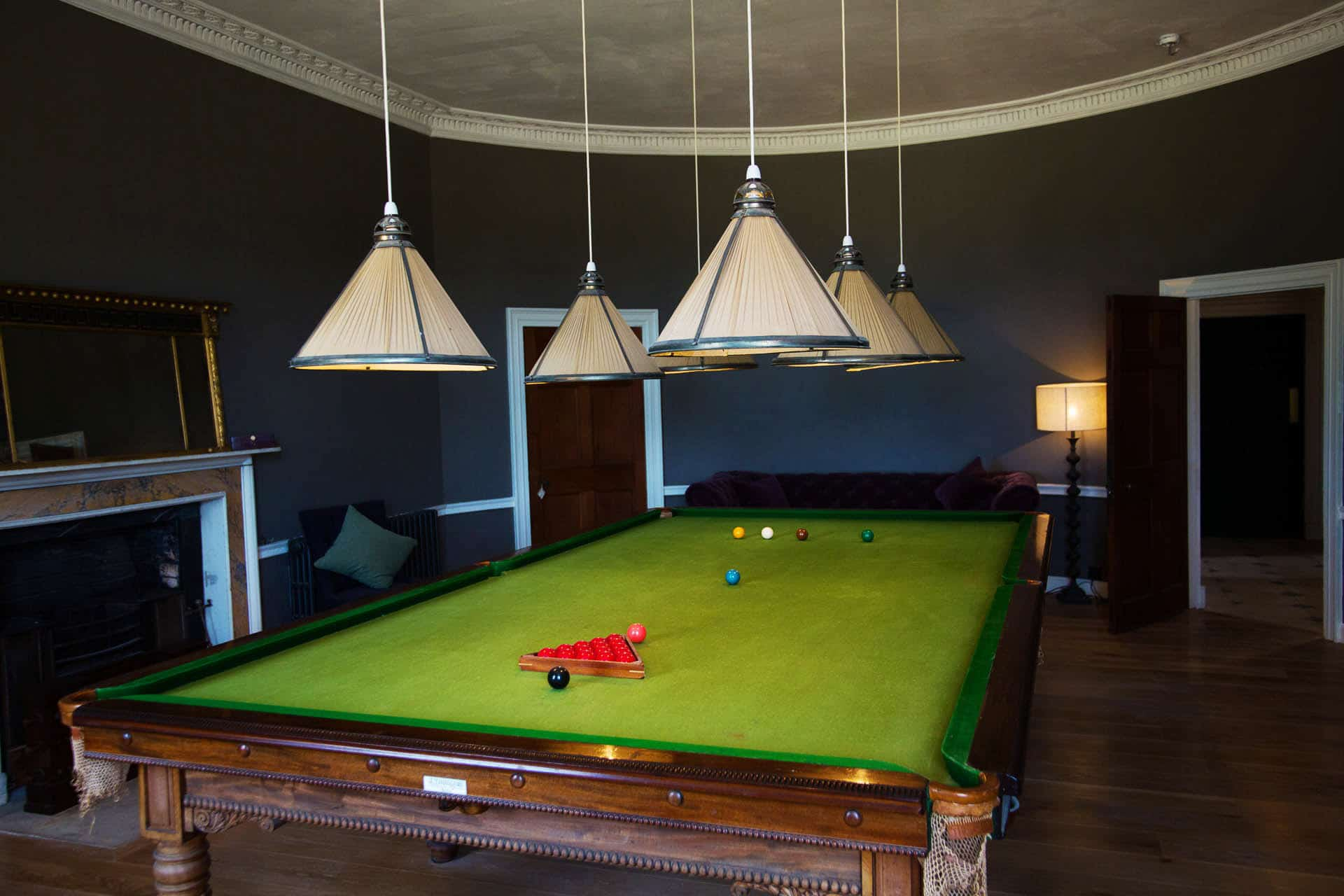 rockbeare manor -billard room