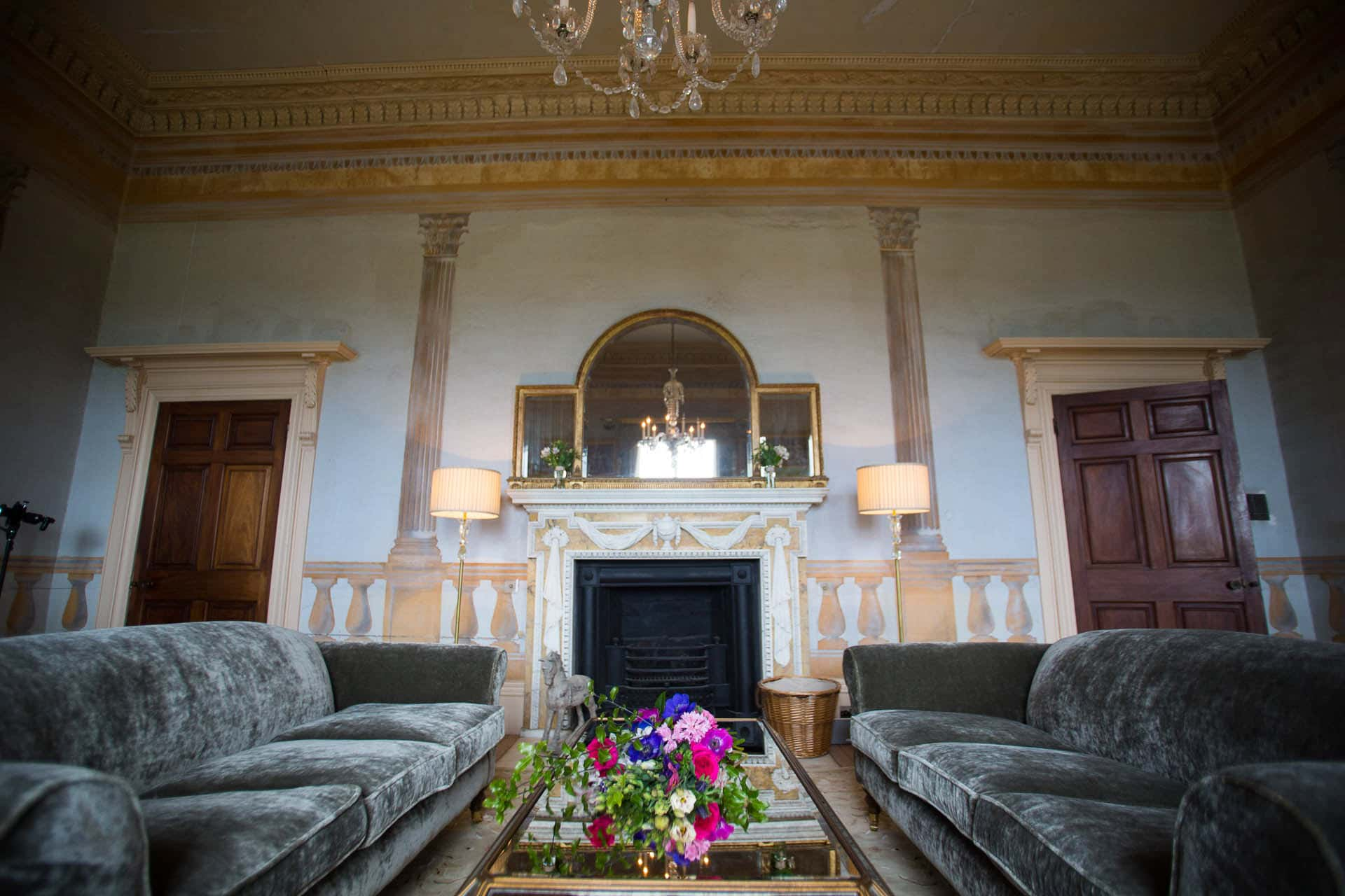 bridal drawing room at rockbeare manor