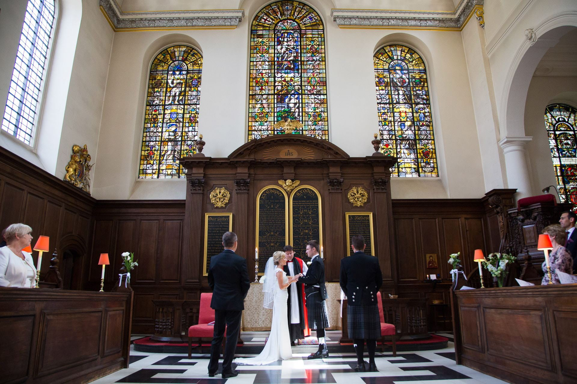 st vedast church wedding