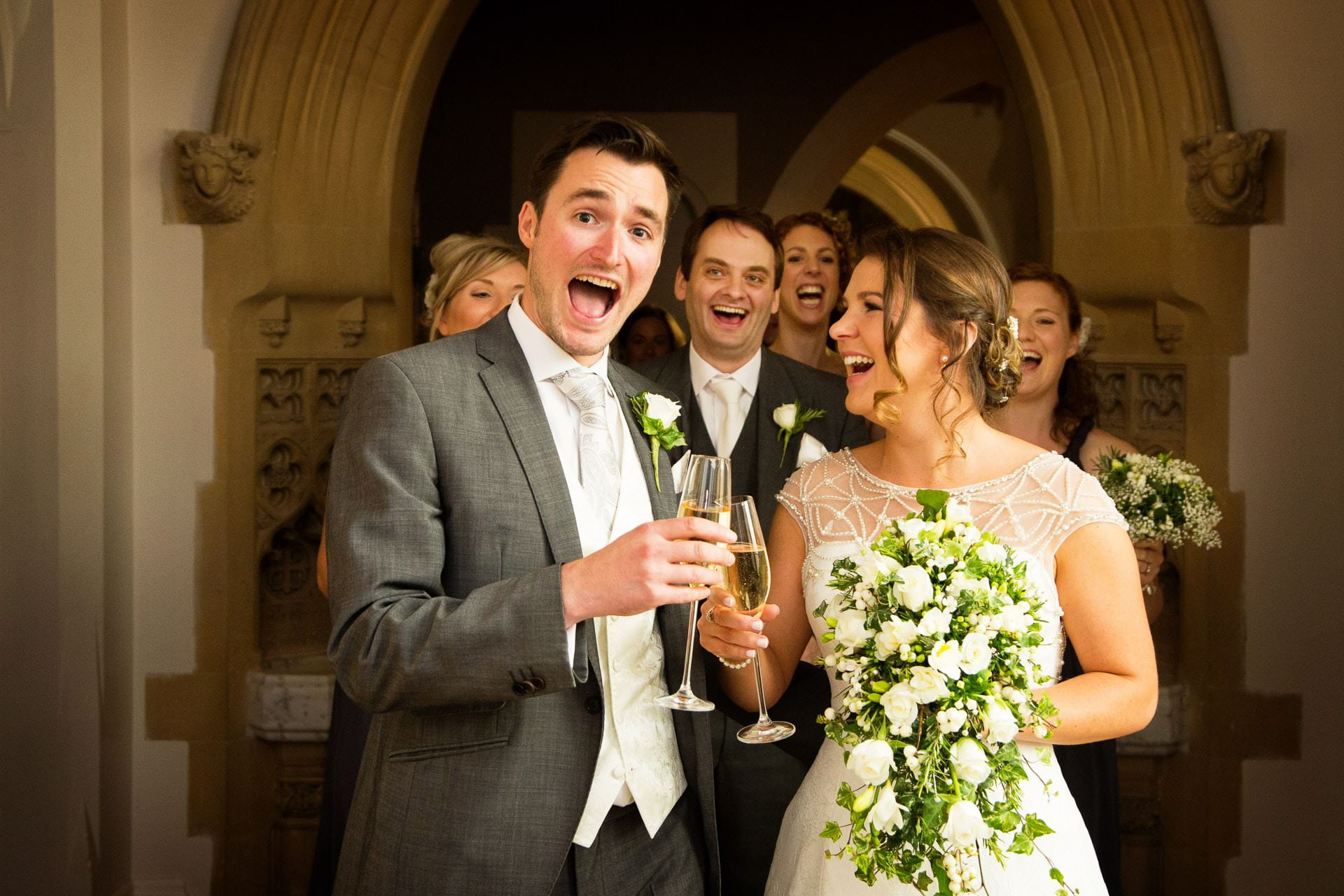 wedding at stanbrook abbey 29 1