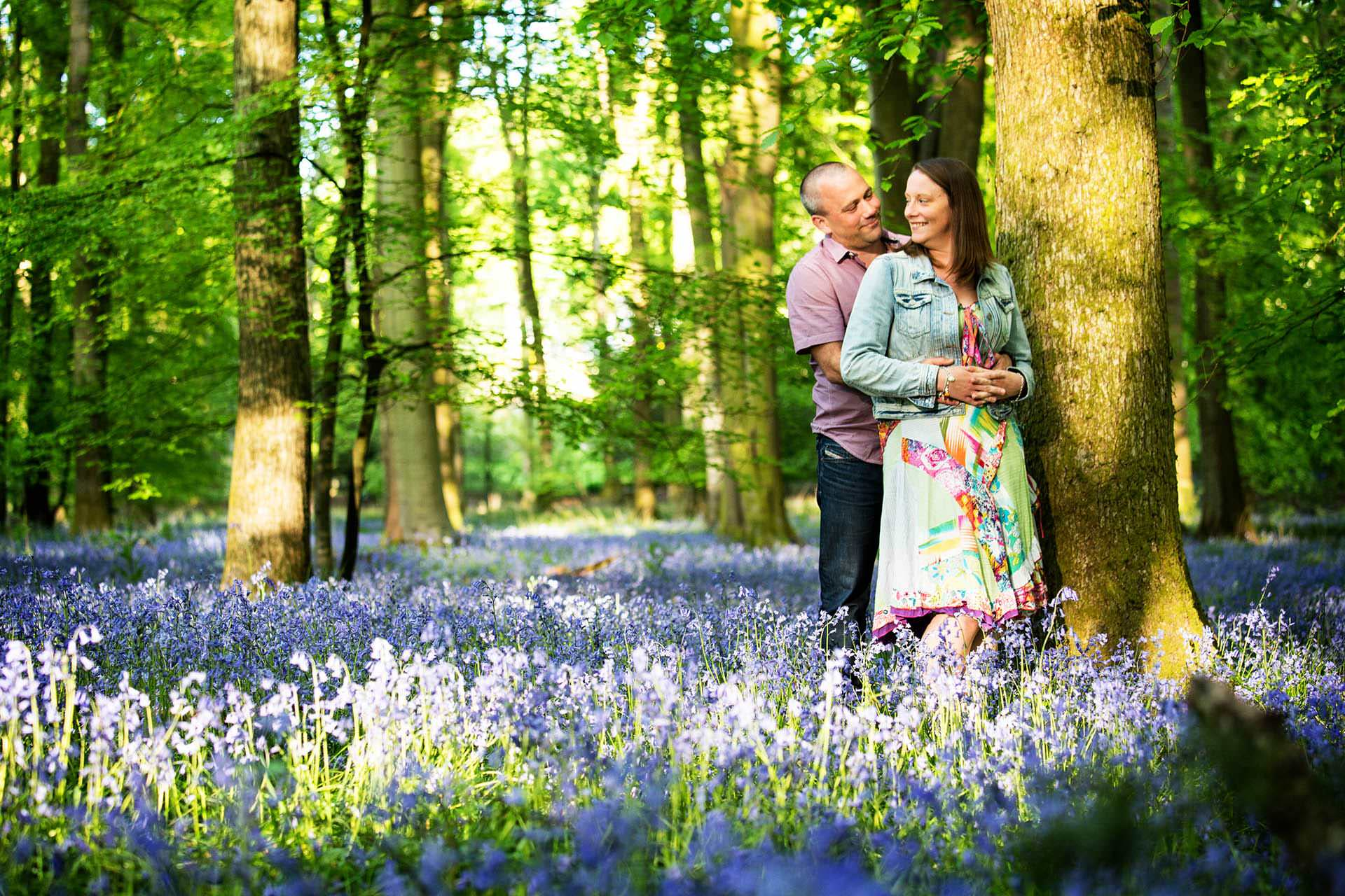 engagement session at the forest of dean