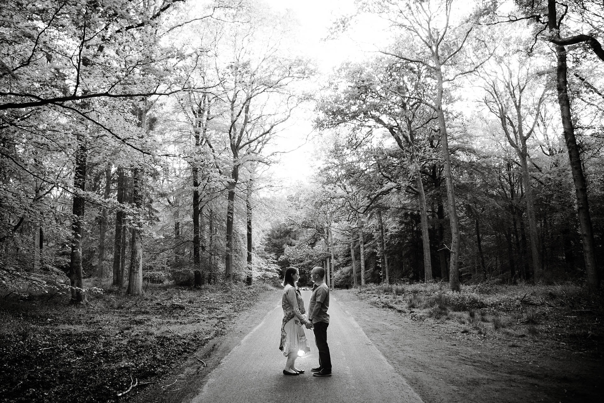 engagement session at forest of dean 10
