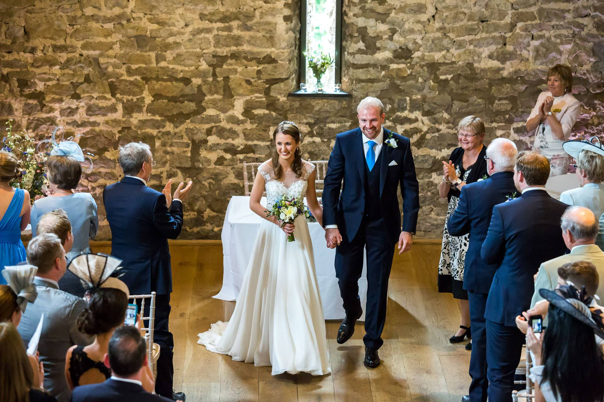 priston mill wedding - tythe barn