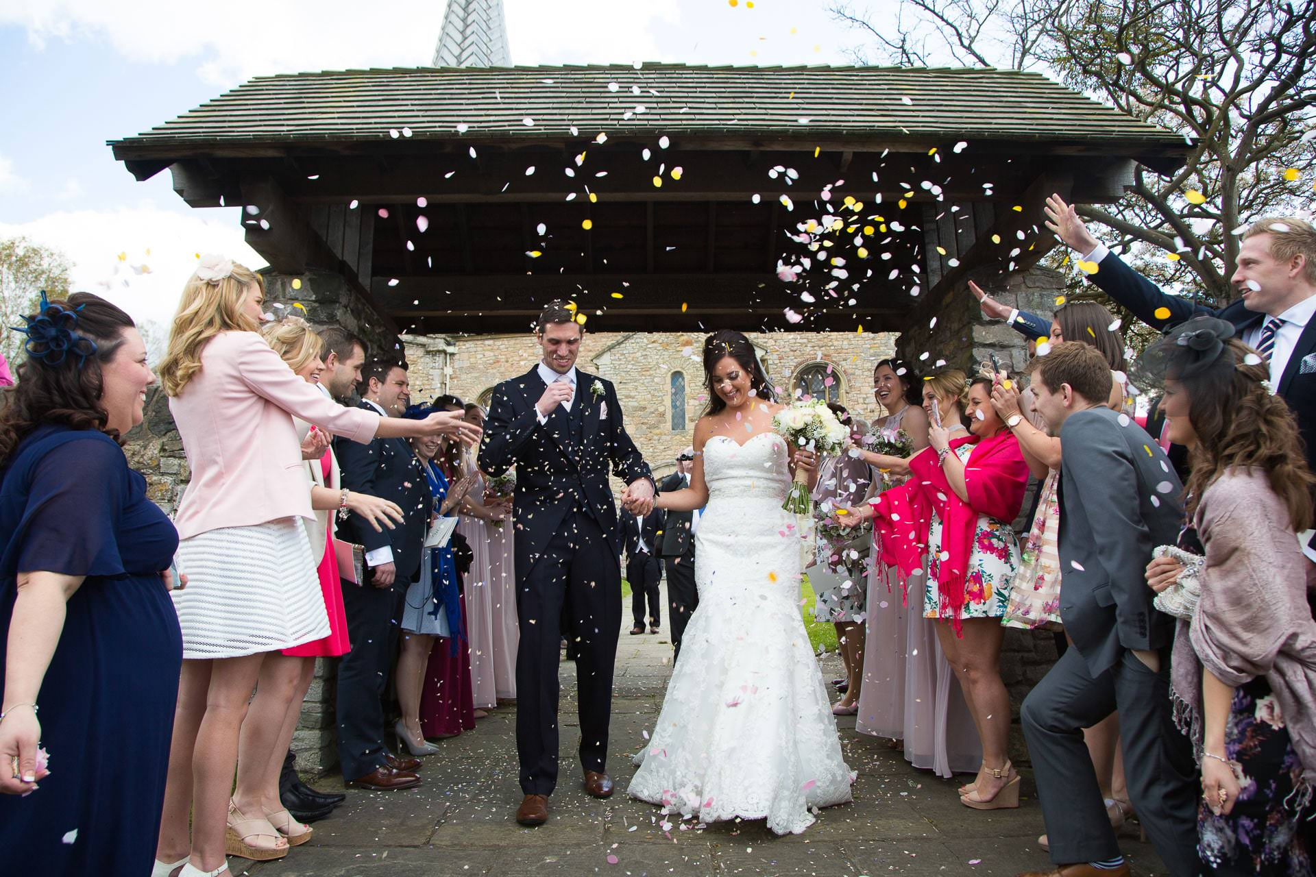 almondsbury church wedding