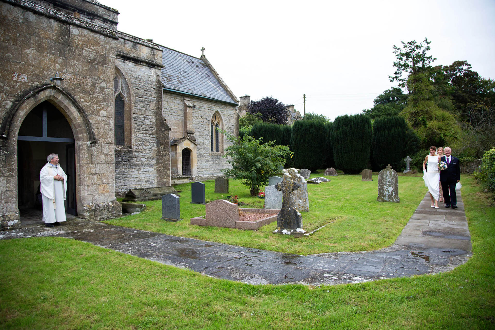 The Church of All Saints in East Pennard