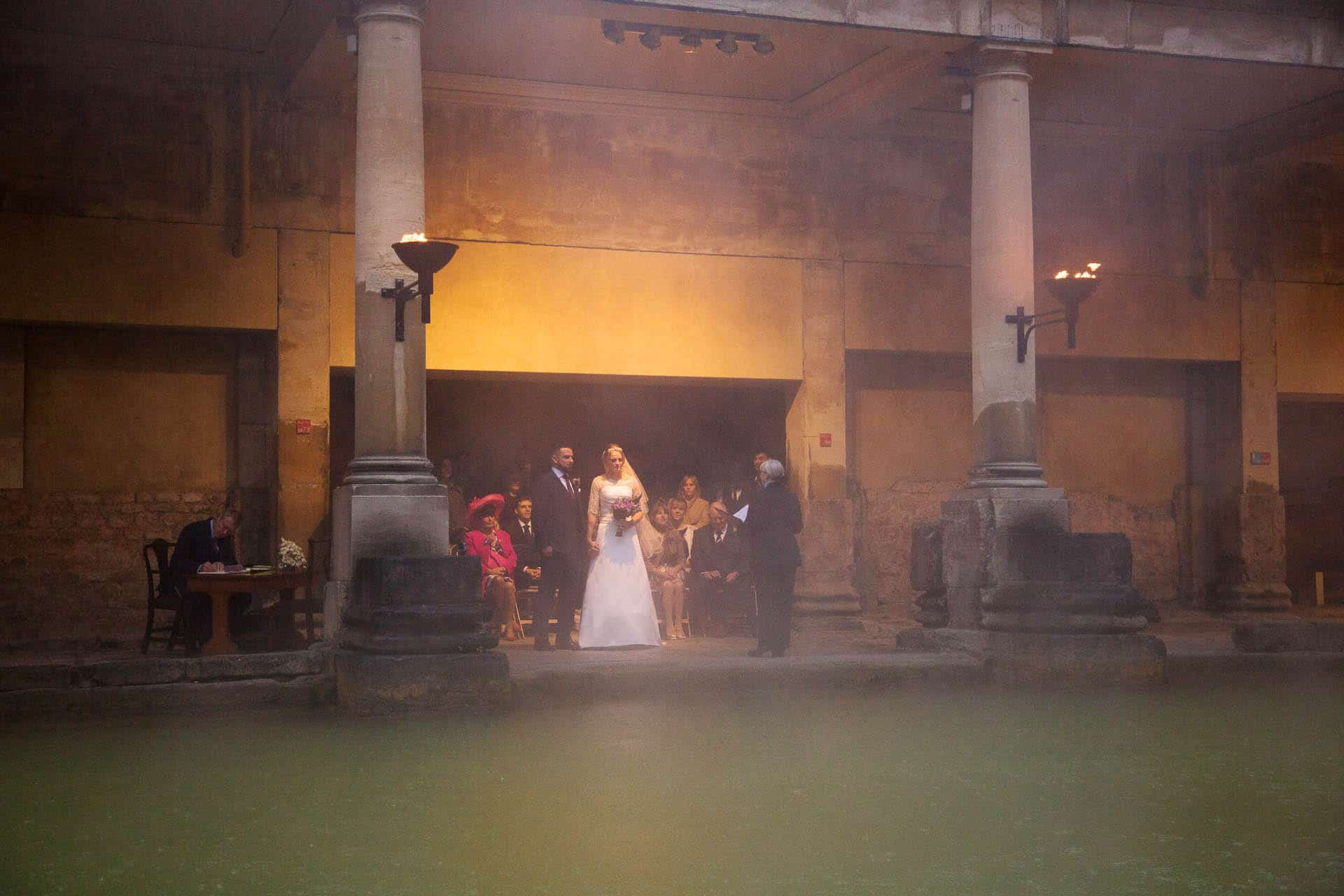 roman baths wedding 13