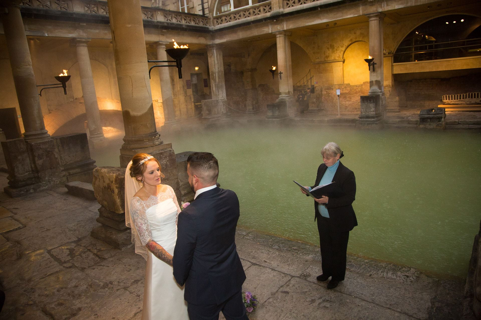 roman baths wedding 15
