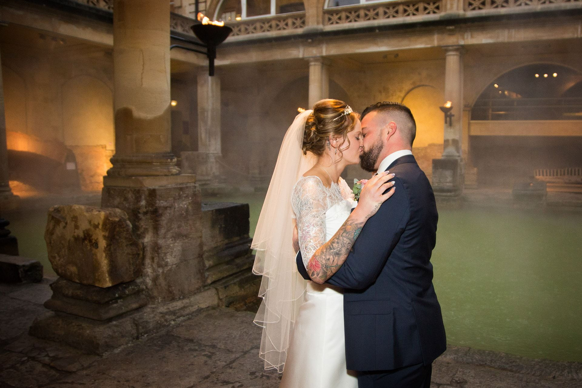 roman baths wedding 17