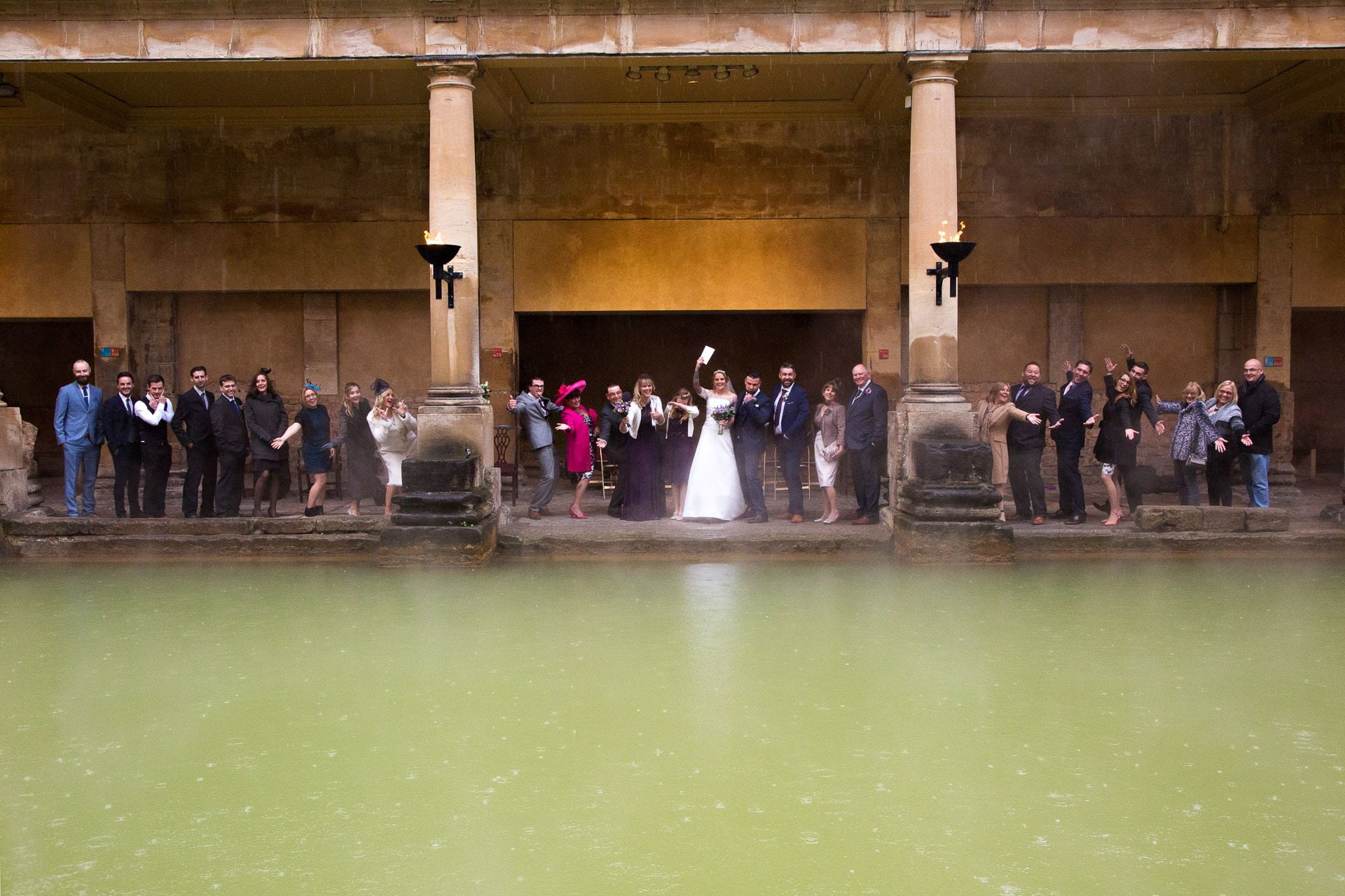 roman baths wedding 19