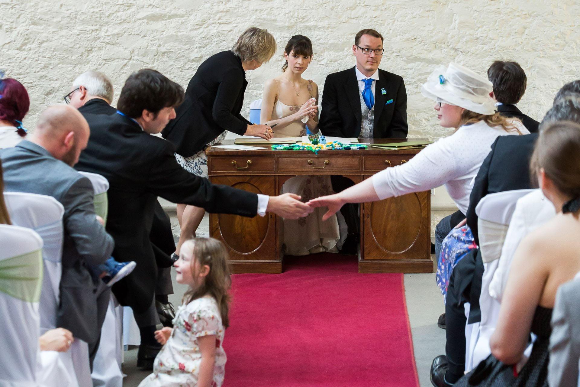 wedding photographer dartington hall