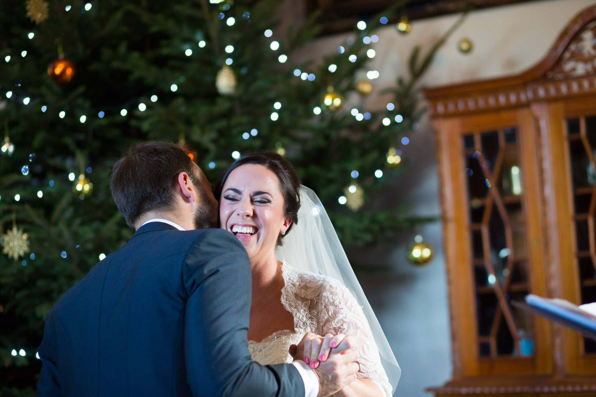 winter wedding orchardleigh