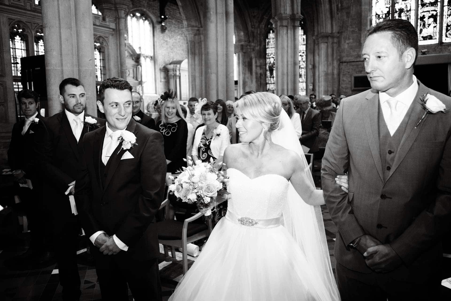 burford church wedding