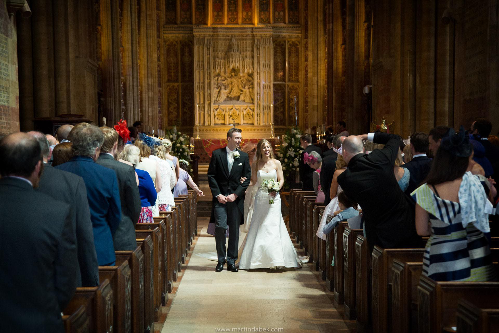 sherborne abbey wedding photography