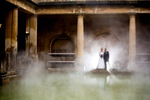 bristol wedding photography roman baths