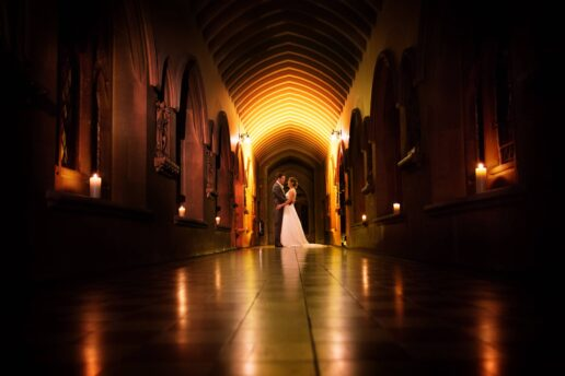 winter wedding photography stanbrook abbey
