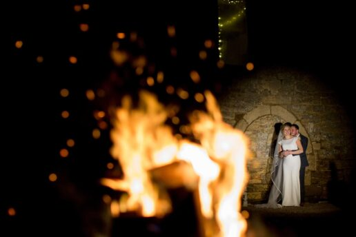 winter wedding photography saxon barn