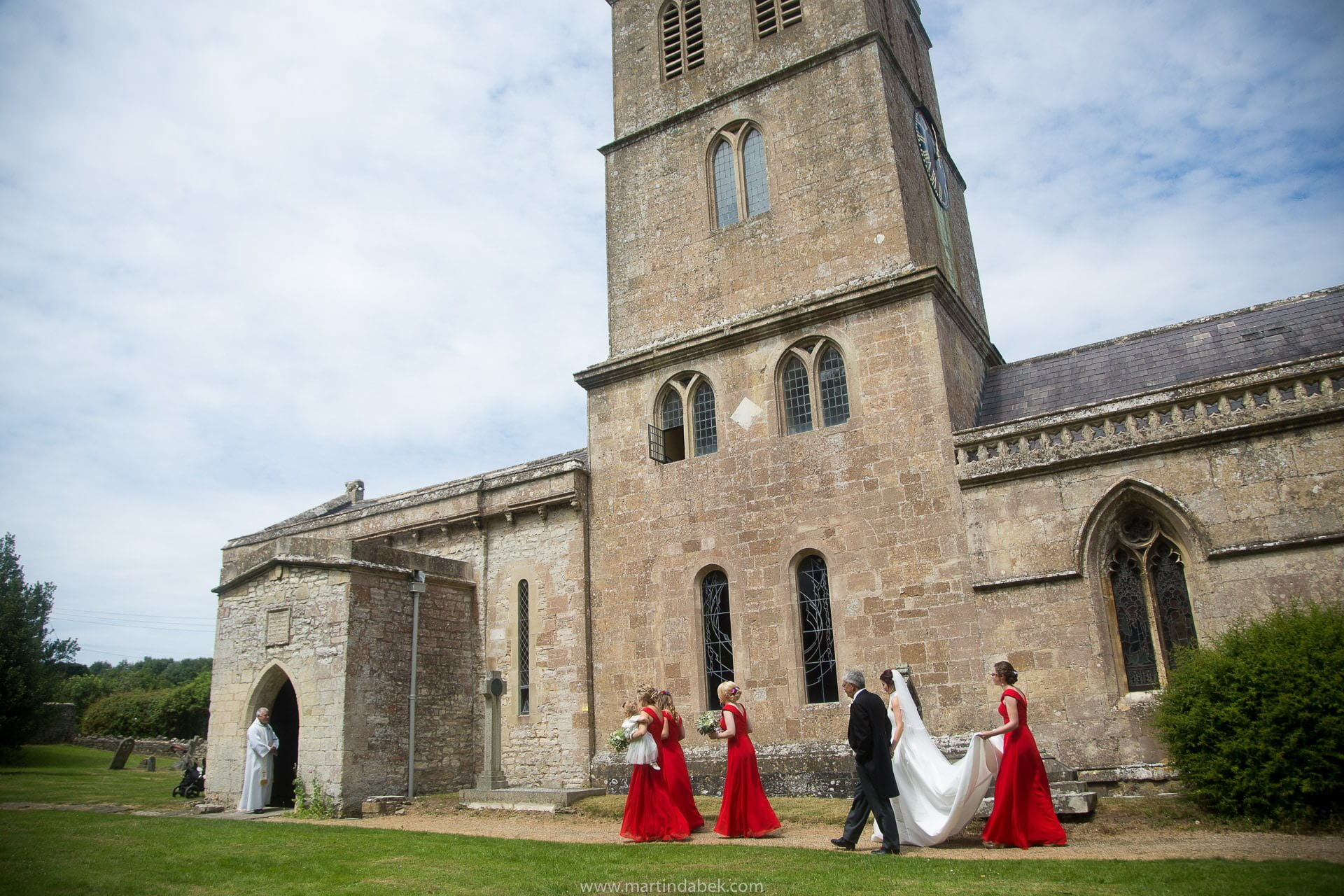 priston church wedding