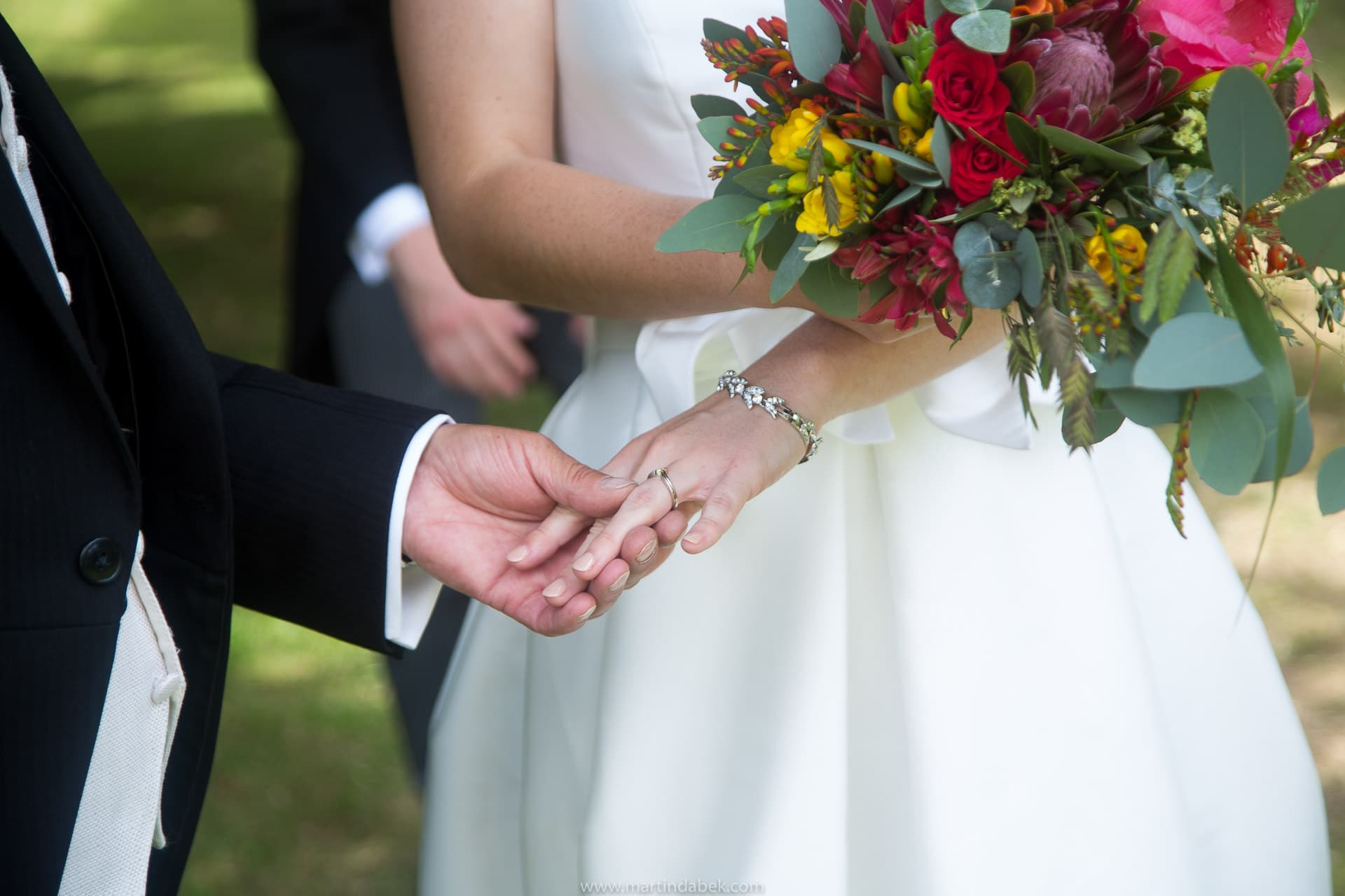 priston church wedding