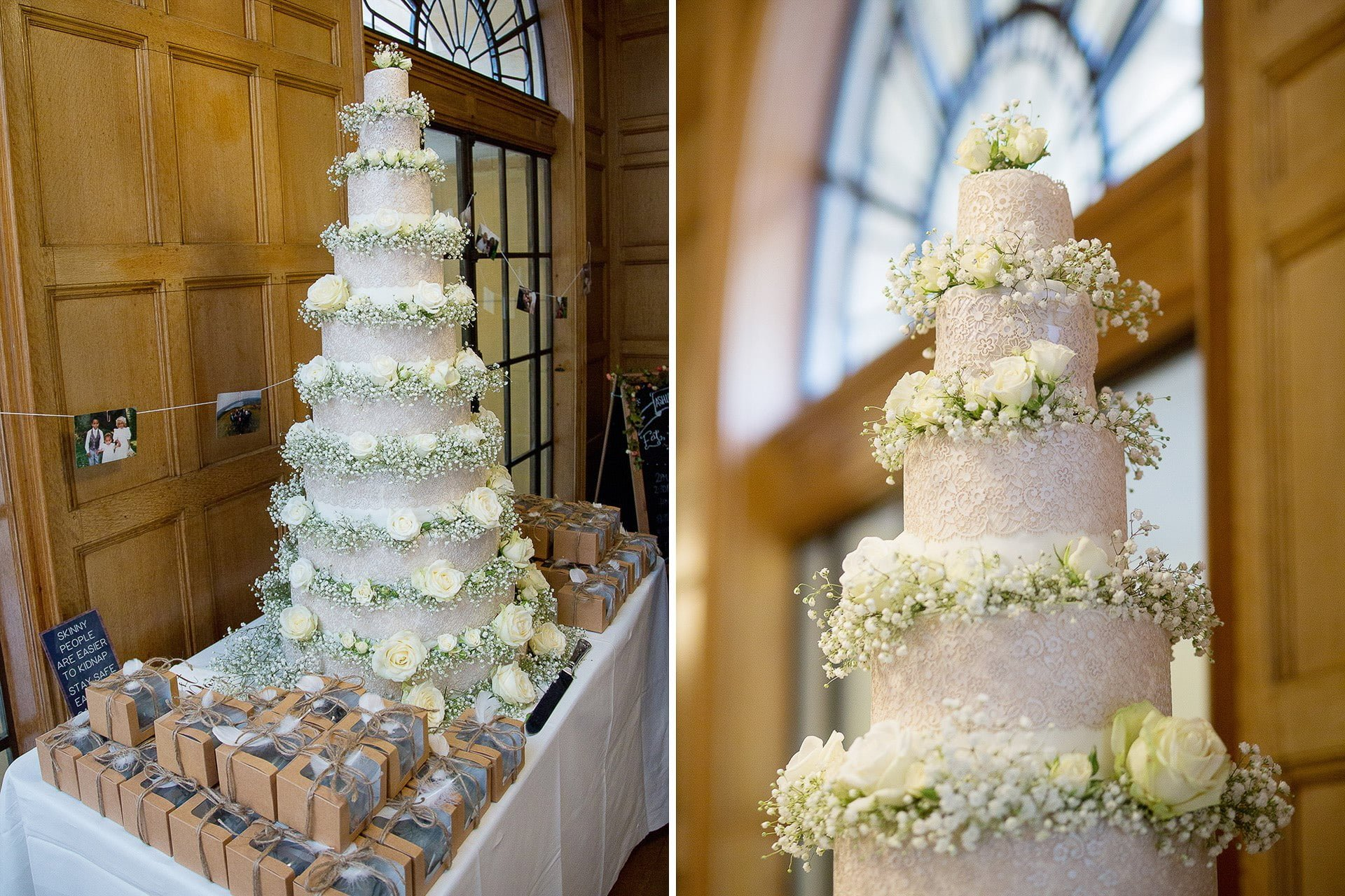 coombe lodge wedding cake