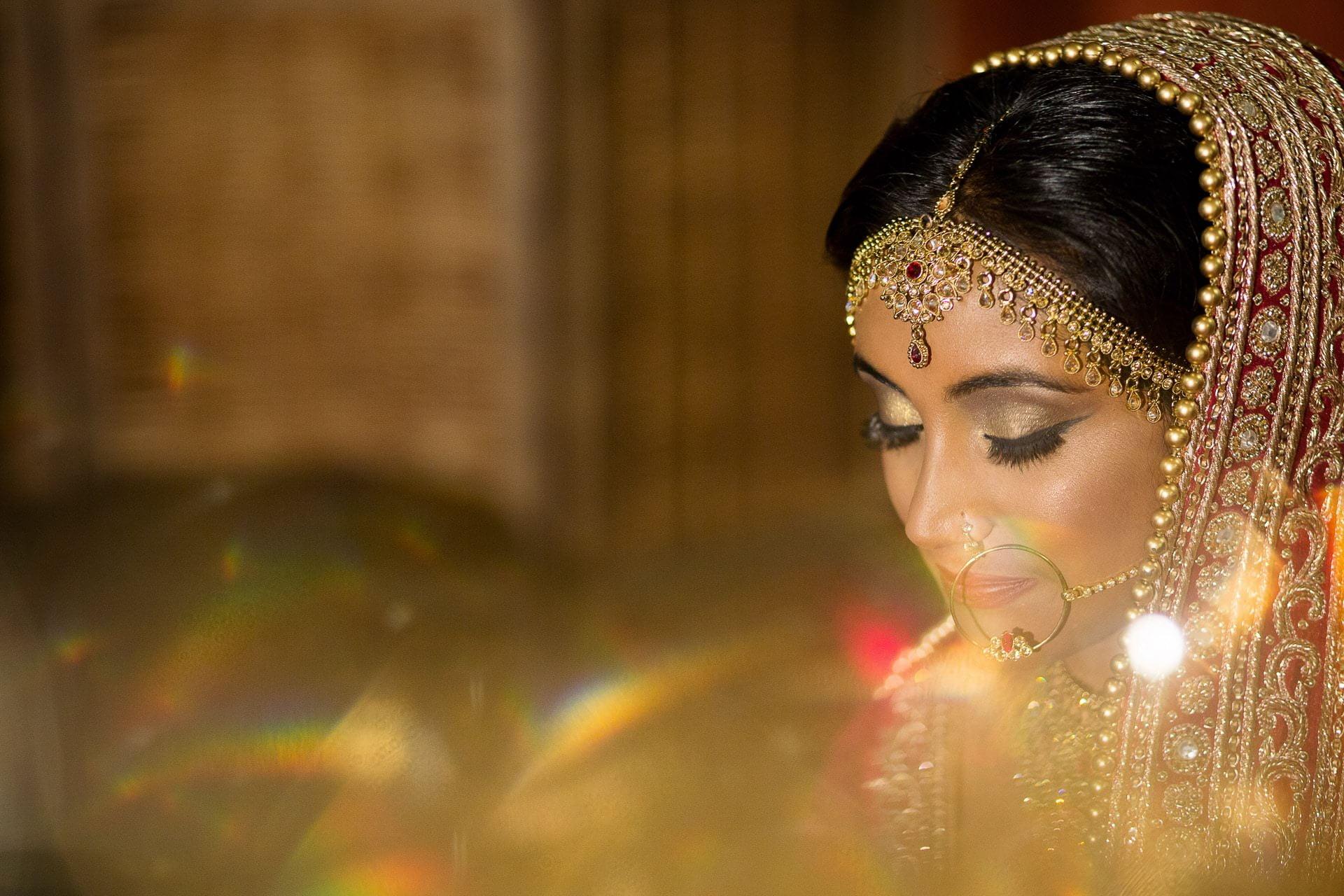 muslim bride make up