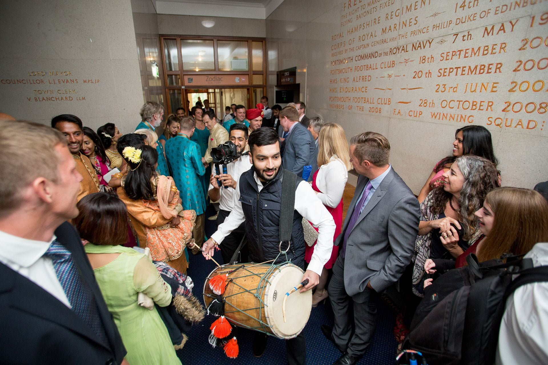 porstmouth guildhall asian wedding