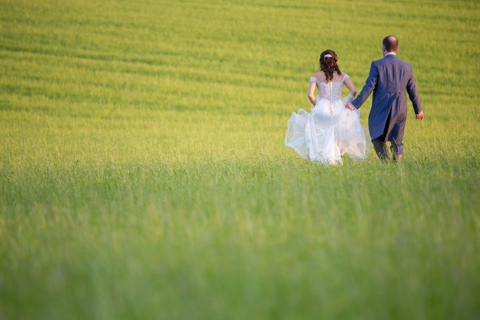 outdoor wedding priston mill