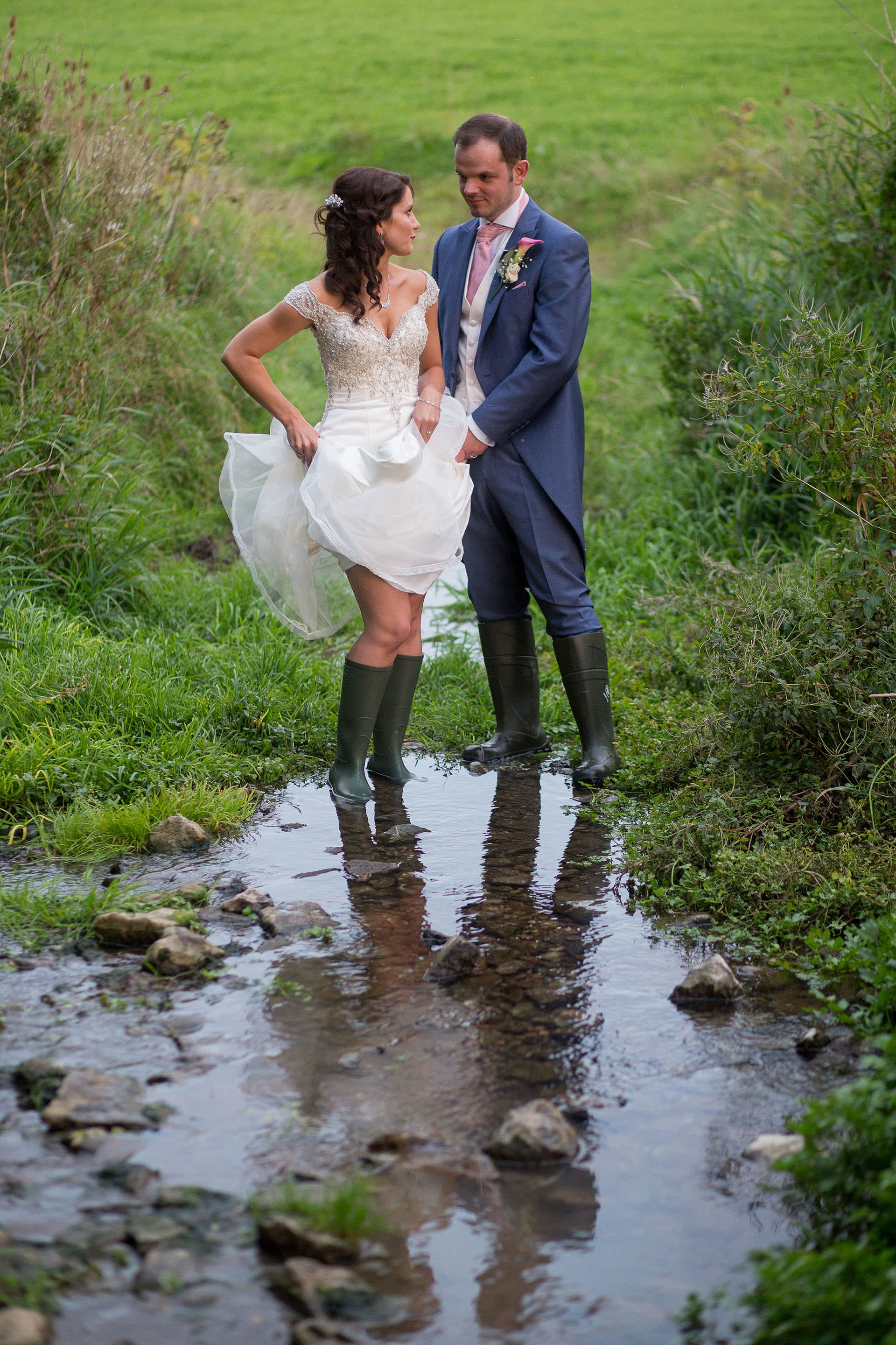 outdoor wedding priston mill