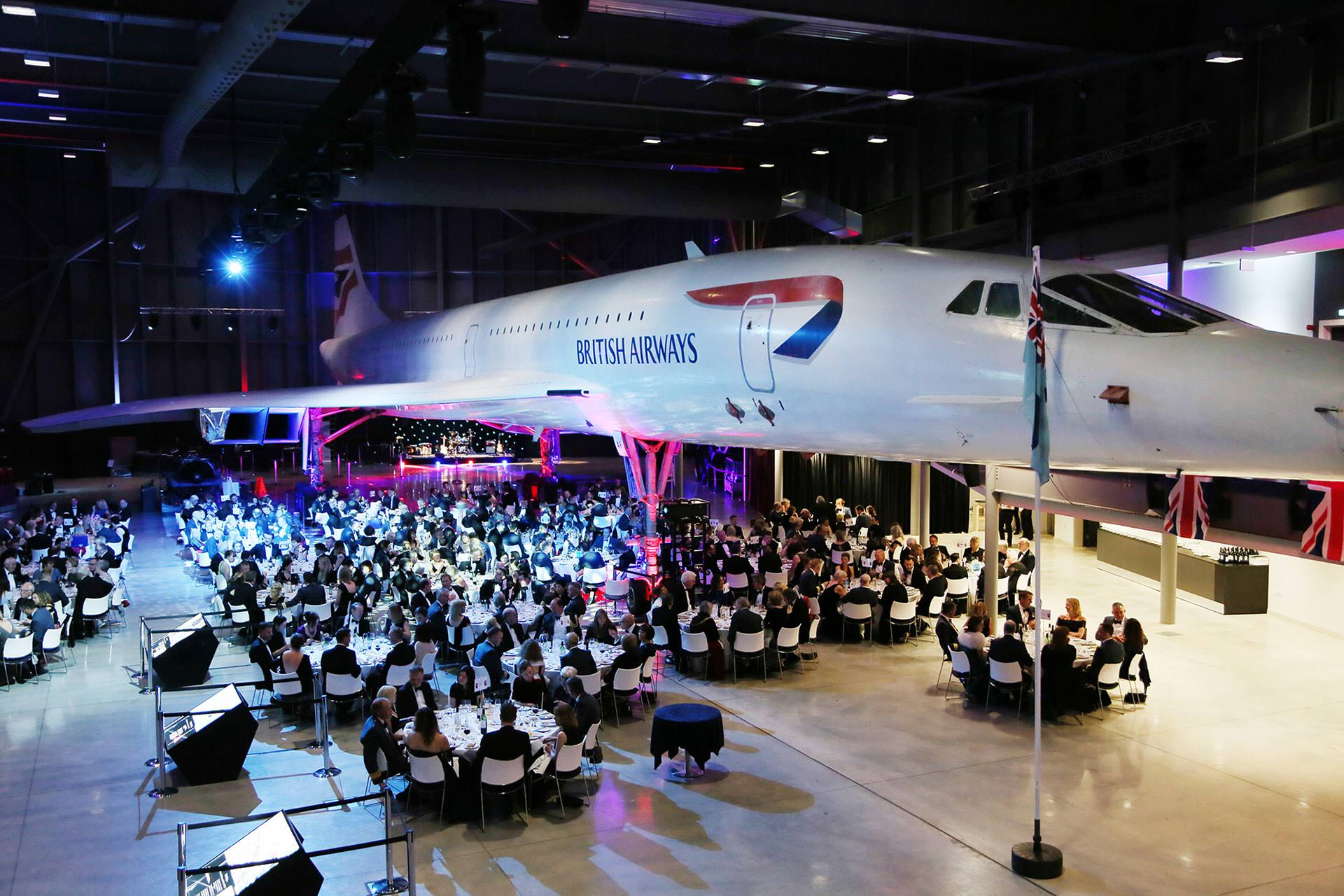 event photography at aerospace bristol