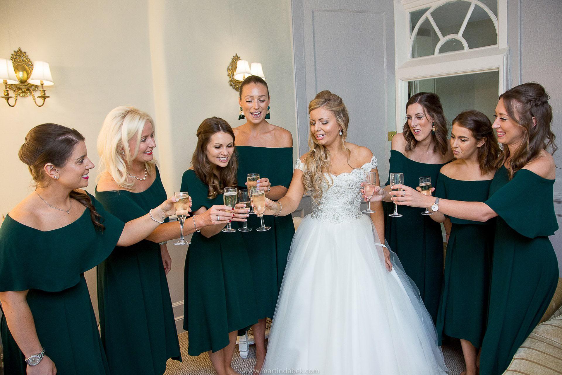 brympton house bridal suite