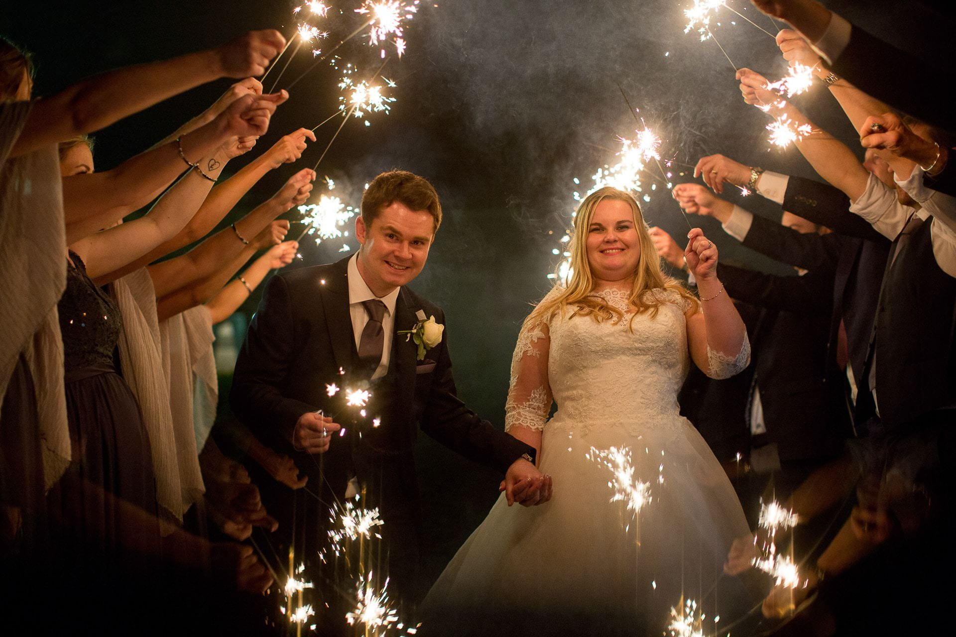winter wedding tortworth court