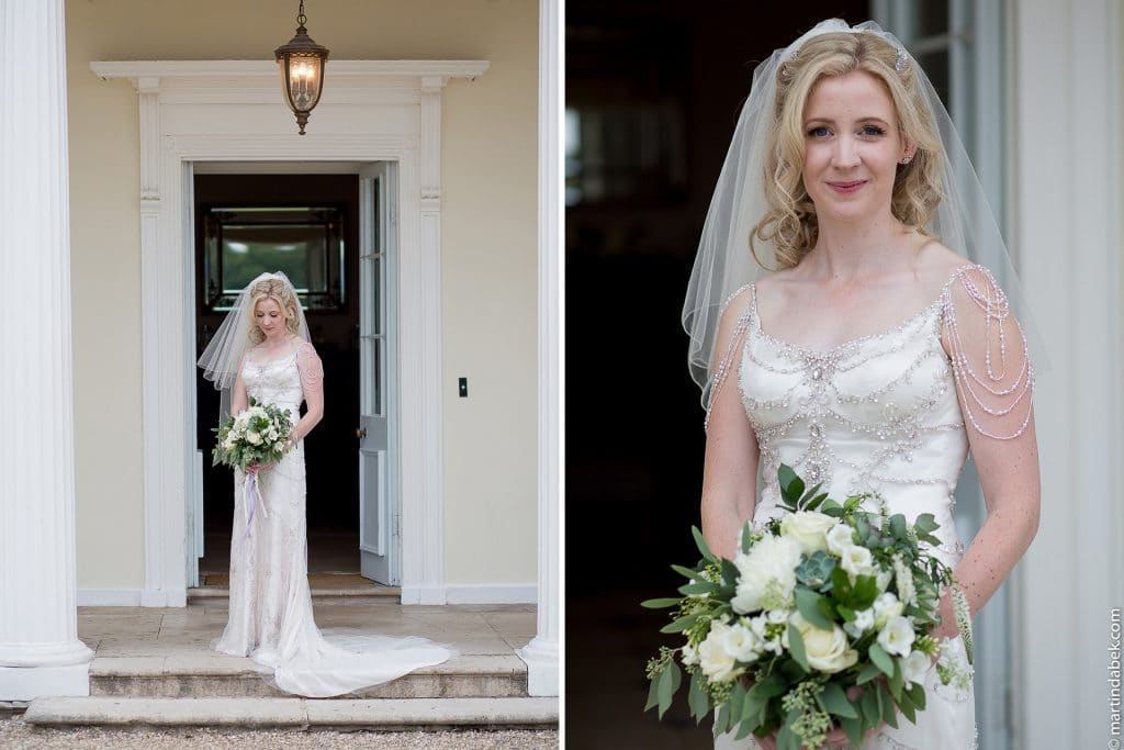 bride at rockbeare manor