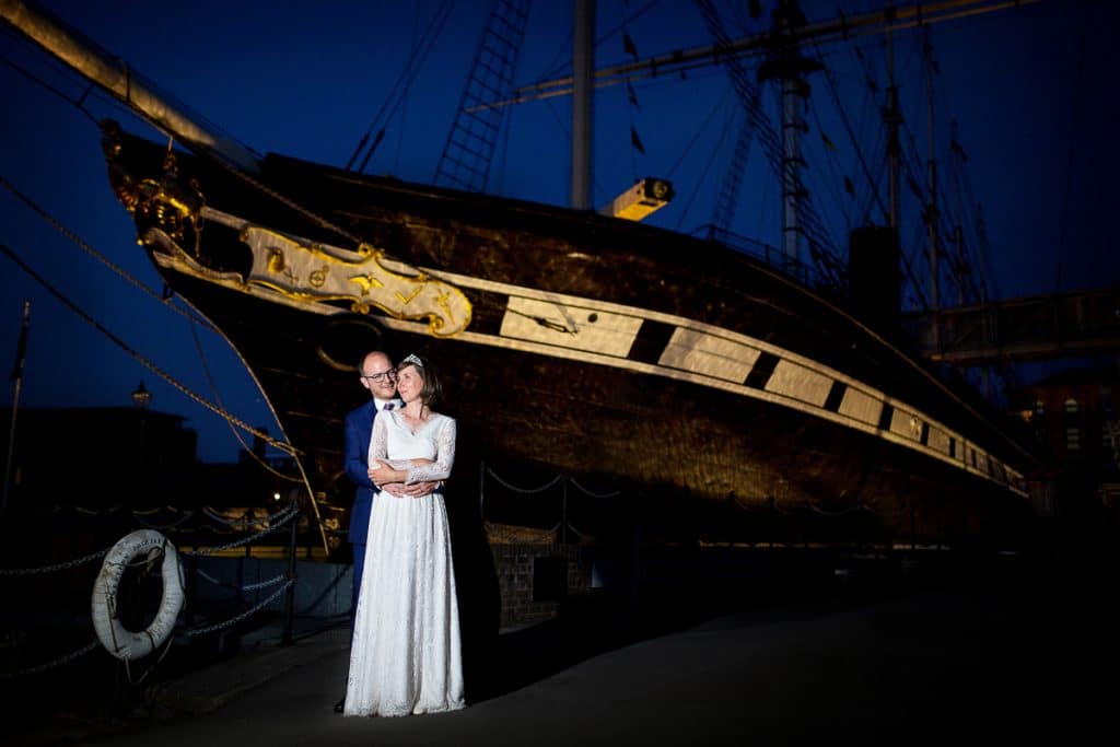 ss great britain wedding photos