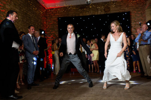 first dance in the old stables at brympton house