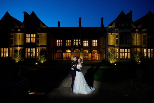twilight hour at coombe lodge