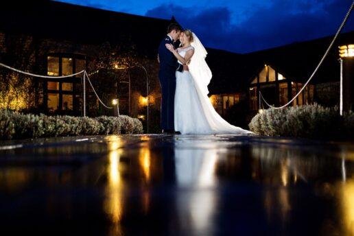 winter wedding at priston mill