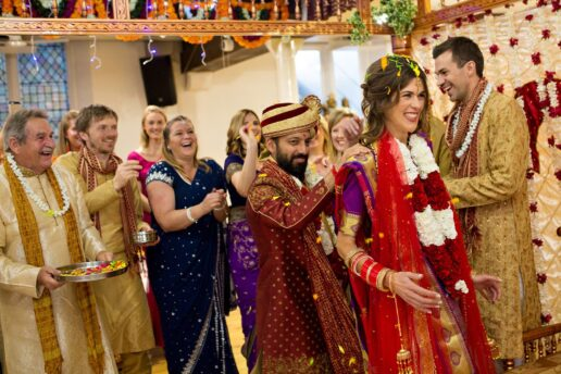 hindu wedding ceremony in bristol hindu temple